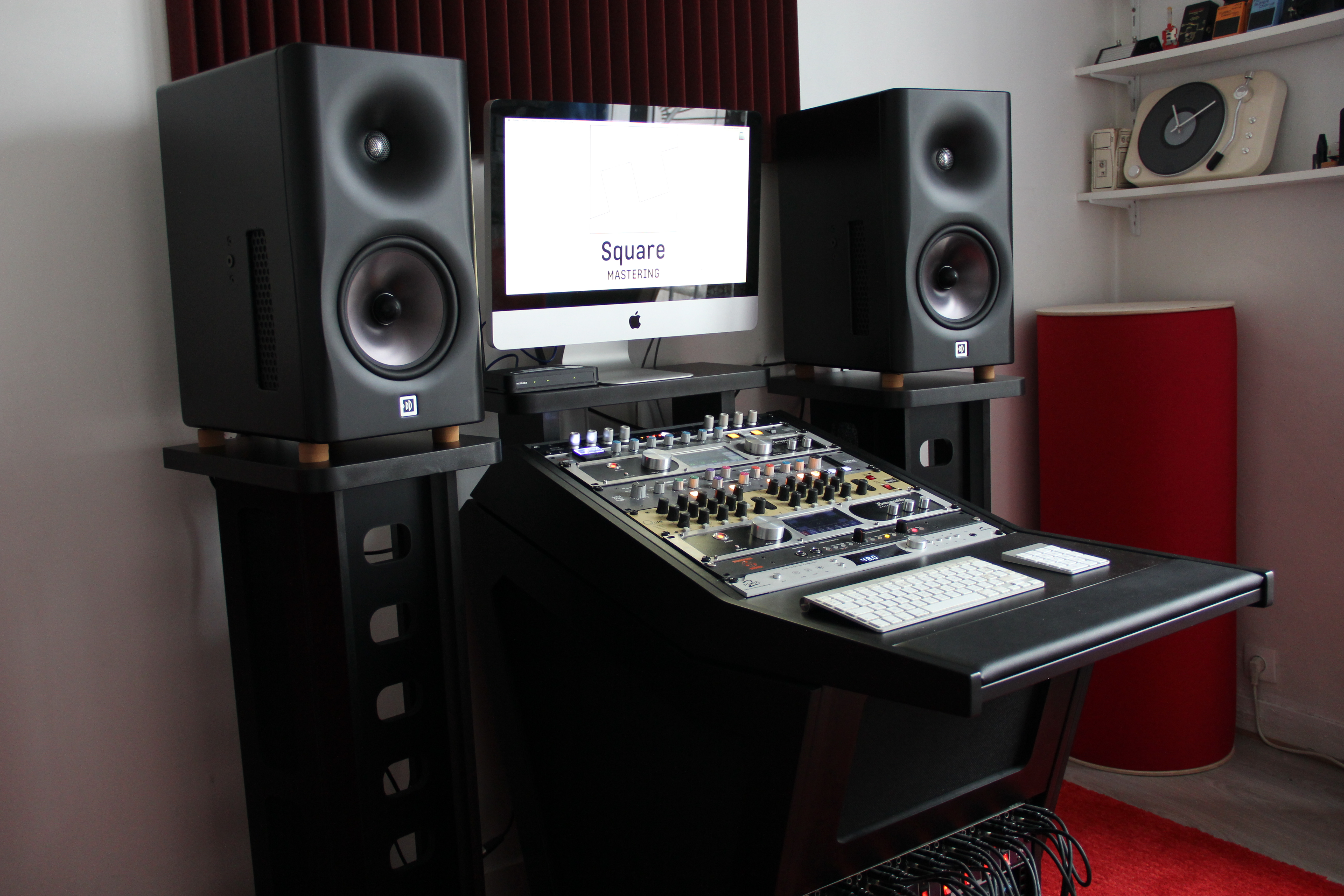 Studio Square Mastering Paris 13ème