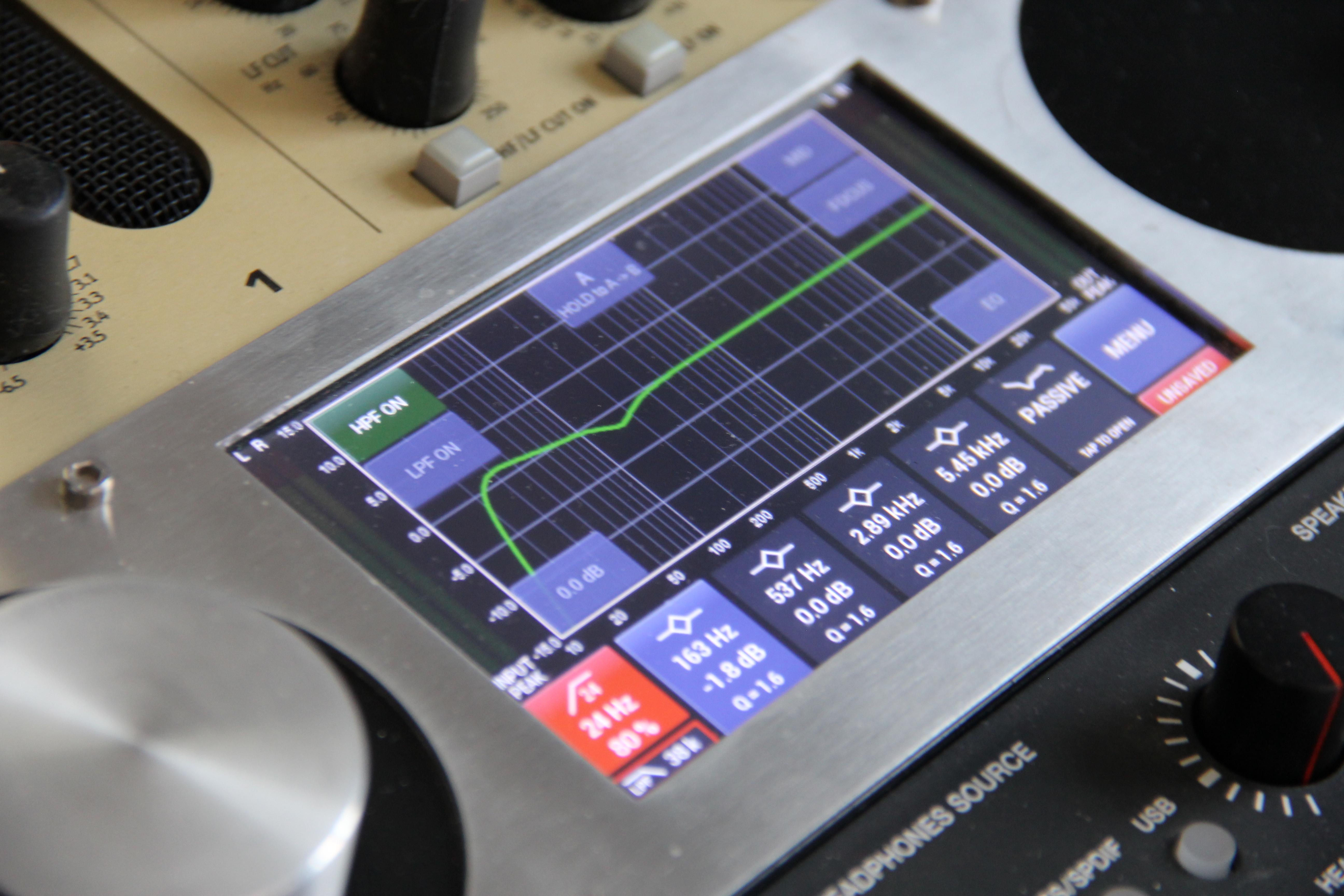 Préampli Universal Audio 710 Twin Finity